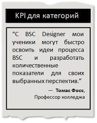 KPI для категорий