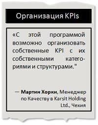 Организация KPIs